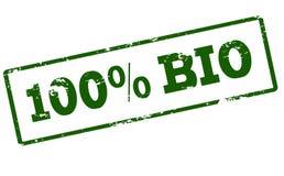Cent pour cent de bio Photographie stock libre de droits
