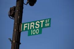 Cent premier signes photos libres de droits