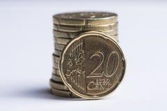 20-Cent-Stellung Lizenzfreie Stockbilder