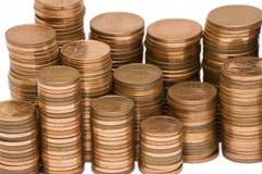 cent ukuwać nazwę euro stertę Zdjęcie Royalty Free