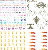Centaines d'éléments illustration stock