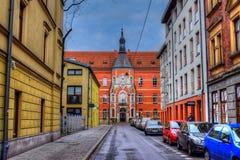 Centar Krakau royalty-vrije stock fotografie