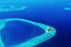 Centara Ras Fushi Resort et station thermale Maldives Images libres de droits