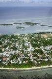 Centara Ras Fushi Resort & Spa Maldiverna Royaltyfri Fotografi