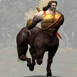 Centaur #02 Royalty Free Stock Images
