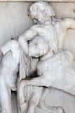 Centaur and Lapith Stock Image