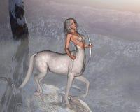 Centaur mistico Fotografie Stock
