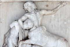Centaur pokonuje Lapith Obrazy Stock