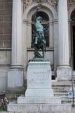 Centaur rzeźba przed wejściem akademia sztuki piękna w Wiedeń Fotografia Stock