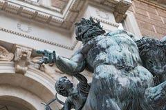 Centaur rzeźba przed wejściem akademia sztuki piękna w Wiedeń Zdjęcie Stock
