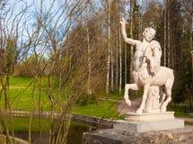 Centaur Sculpture Stock Photo