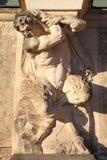 Centaur statua Zdjęcia Stock