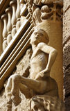 Centaur young sculpture architecture detail Stock Image