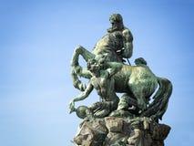 Centaureabrunnen in Furth Stockfotografie