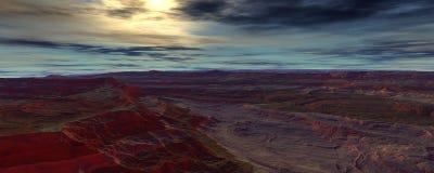 centauri afton Arkivfoton