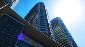 Centaurus购物中心大厦 免版税图库摄影
