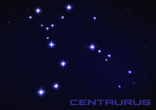 Centaurus constellation Royalty Free Stock Photos
