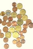 Centavo de Euro Foto de Stock Royalty Free