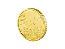 centavo do euro 50 Fotografia de Stock