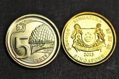 5 centavos Foto de archivo