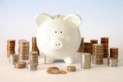 Centavos del dinero Foto de archivo