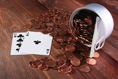 Centavos EUA Imagem de Stock