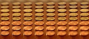 Centavos euro Foto de archivo libre de regalías