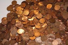 Centavos euro Imagenes de archivo