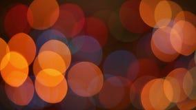 Centelleos al azar de las luces de la Navidad stock de ilustración