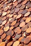 centen coins euro Royaltyfria Bilder