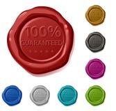 centen garanterde hundra en per Fotografering för Bildbyråer