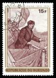 Centenaire de Lénine photographie stock