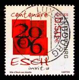 Centenaire de la ville d'Esch-sur-Alzette, serie d'anniversaire, vers 2006 photos stock