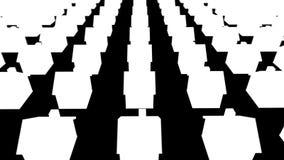 Centenares de casas en diversa fila libre illustration