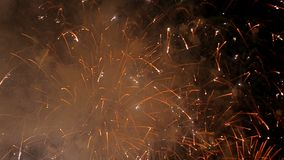 Centenares de luces de saludo almacen de metraje de vídeo