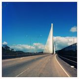 Centenario Bridge in Panama City Royalty Free Stock Image