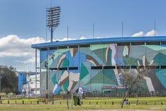 Centenario-Stadions-Fassade Montevideo Uruguay Stockfoto