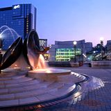 Centenary Square, Birmingham. Stock Images
