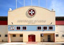Centenary Stadium, Malta. Front view of the Centenary Stadium, Attard, Malta, Europe Royalty Free Stock Photography