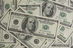Centenas de dólares fotos de stock royalty free