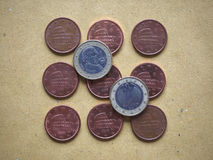 5 centenmuntstuk, Europese Unie, Italië Royalty-vrije Stock Foto's