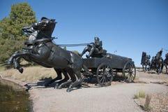 centennial бег памятника земли Стоковое Фото