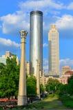 centennial олимпийский парк Стоковое Изображение
