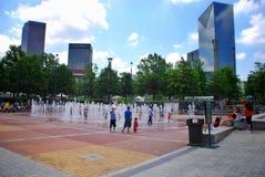 Centennial олимпийский парк на Атланте стоковые изображения