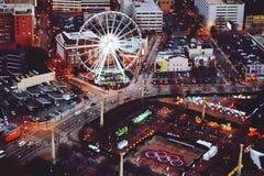 centennial олимпийский парк Стоковые Изображения