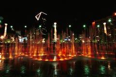 Centennial парк Атланта Georgia Стоковые Изображения RF