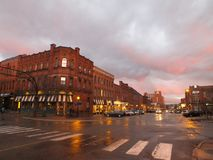 Centennial старый городок стоковые фото