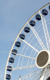 Centennial ferris wheel at navy pier Stock Photo