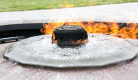 Centennial Flame Stock Photos
