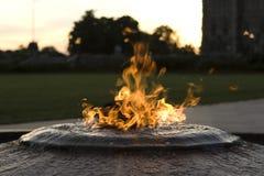 Centennial Flame Ottawa. Centennial Flame in Ottawa - Canada Royalty Free Stock Photo